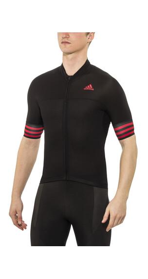 adidas Adistar SS Jersey Men black/vivid red